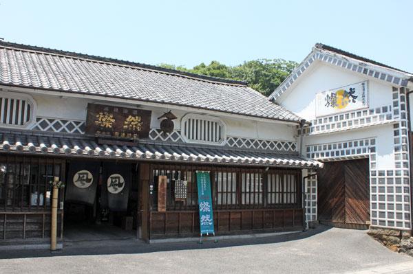 菊池酒造株式会社 正門