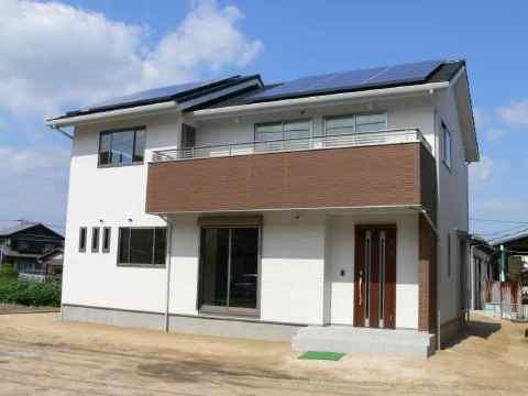 自宅兼モデルハウスです。「遮熱の家」仕様です。