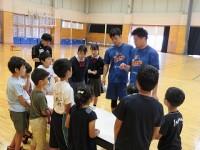 プロバスケットボール選手体験