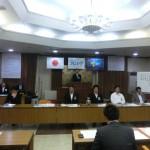 臨時総会にて次年度理事長予定者として香西君が承認されました。
