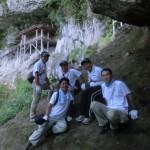 三徳山の国宝「投入堂」を拝むことができました