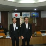 2016年度 理事長予定者と岡山ブロック協議会出向委員長予定者
